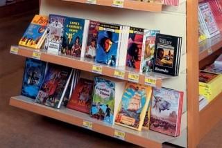 Prodejní regály na knihy